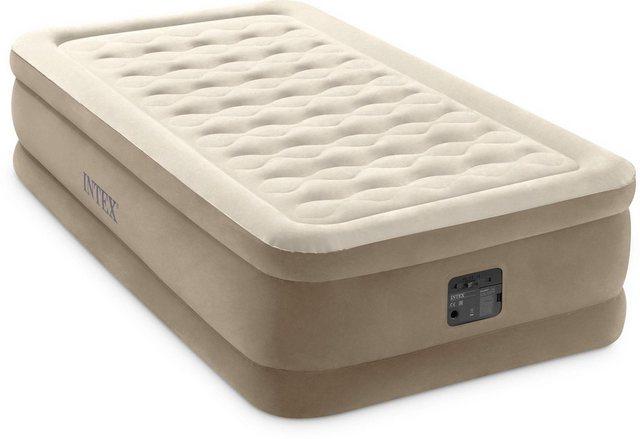 Intex Luftbett »DURA-BEAM® UltraPlush Airbed«, (Set, mit Transporttasche) | Schlafzimmer > Betten > Luftbetten | Intex