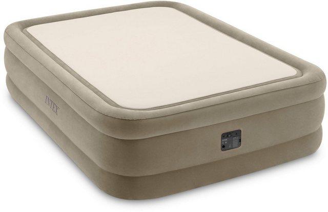 Intex Luftbett »DURA-BEAM® ThermaLux™ Airbed, QUEEN«, (Set, mit Transporttasche) | Schlafzimmer > Betten > Luftbetten | Intex