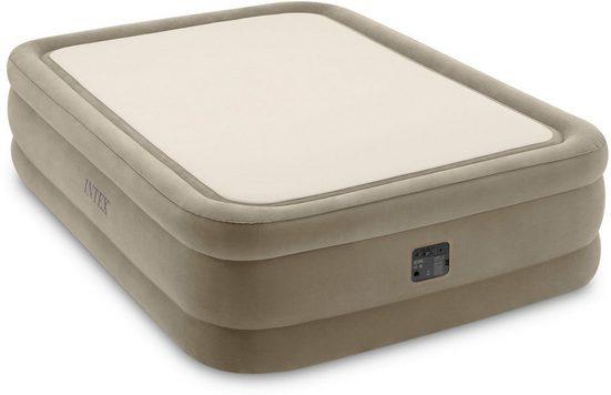 Intex Luftbett »DURA-BEAM® ThermaLux™ Airbed, QUEEN«, (Set, mit Transporttasche)