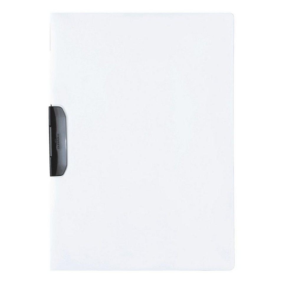 Durable Klemmhefter »Duraswing« in weiß