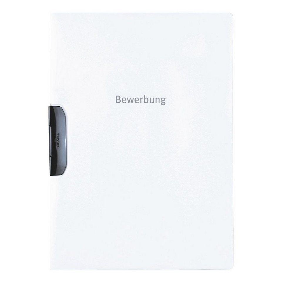 Durable Bewerbungsmappe »Duraswing« in weiß