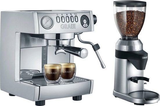 """Graef Siebträgermaschine """"marchesa"""" ES850EUSET, inkl. Kaffeemühle CM 800 im Wert von 169,99 UVP"""