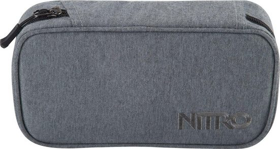 NITRO Federtasche »Pencil Case XL black noise«