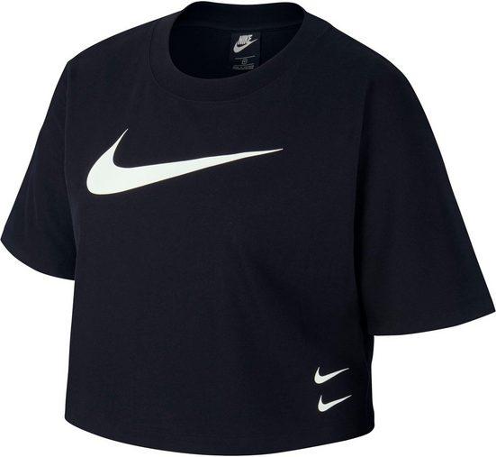 Nike Sportswear T-Shirt »Swoosh Top Shortsleeves PLUS SIZE«