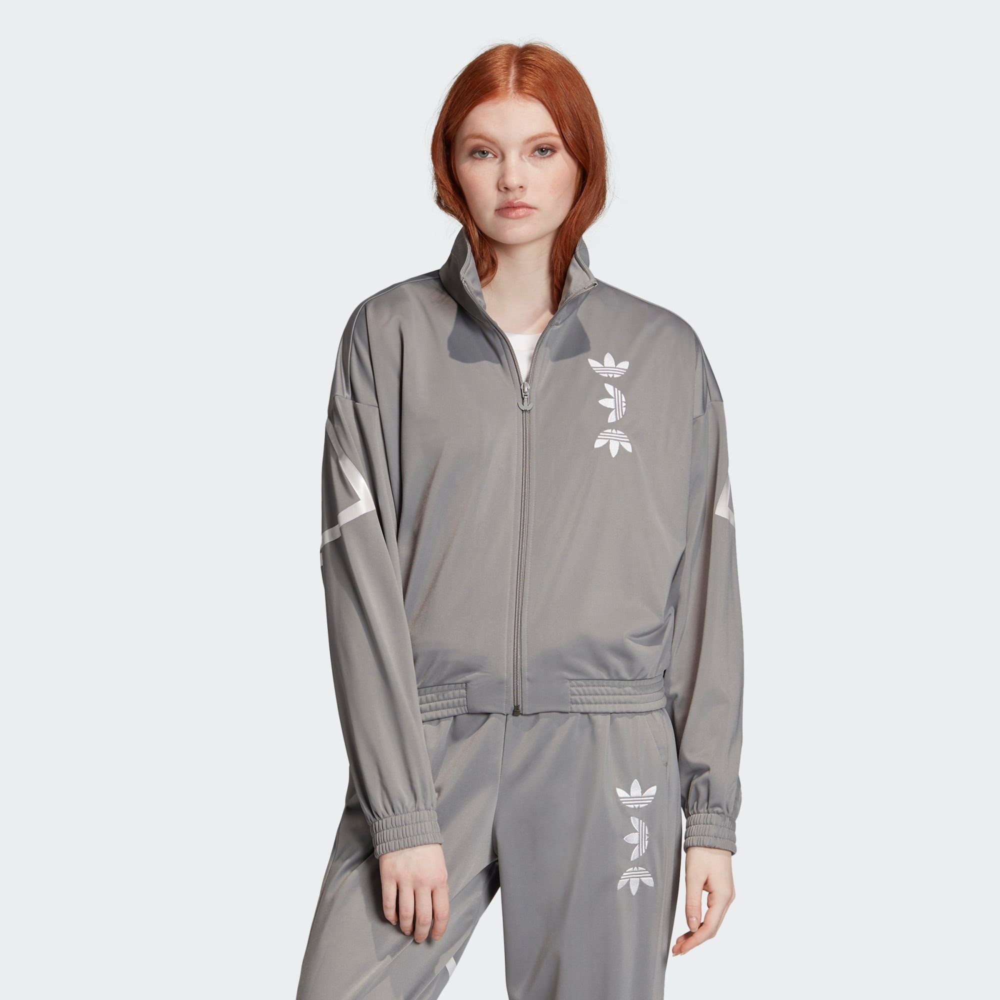 adidas Originals Sweatjacke Large Logo Originals Jacke adicolor
