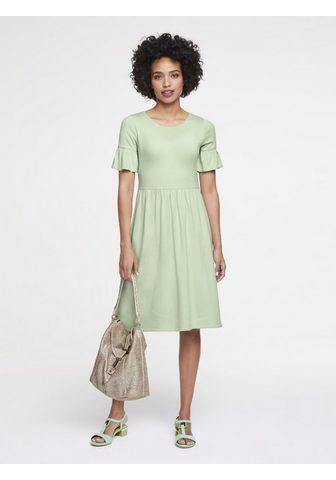 HEINE CASUAL megzta suknelė su paraukimai