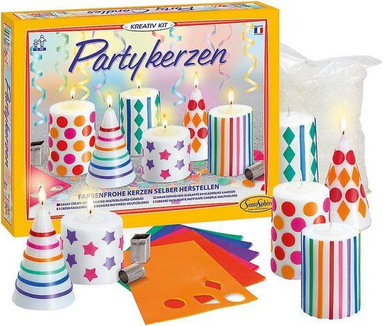 SentoSphere Formkerze »Kreativset Partykerzen«