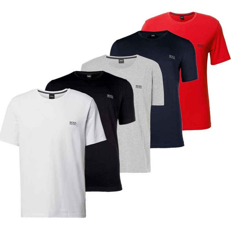 Boss T-Shirt »Hugo Boss T-Shirt mit Logo Strickerei«