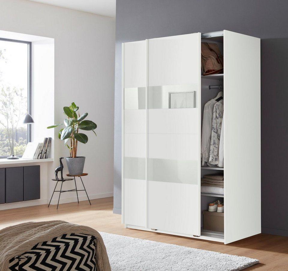 Wimex Schwebetürenschrank »Altona« mit Glaselementen und zusätzlichen  Einlegeböden online kaufen | OTTO