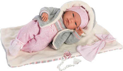 Llorens Babypuppe »Nica, 40 cm« (Set, 4-tlg), Made in Europe