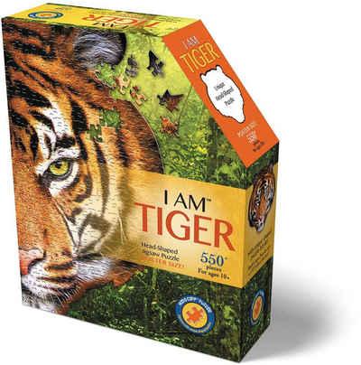 Konturenpuzzle »Tiger«, 550 Puzzleteile