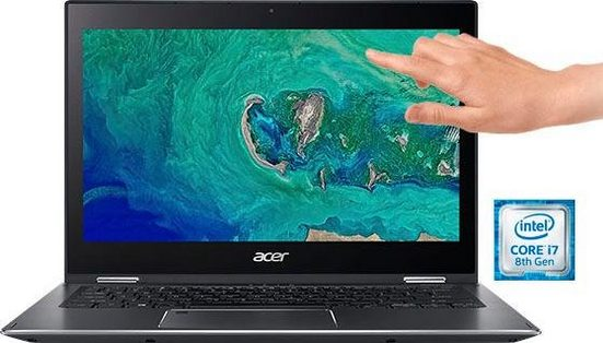 Acer Spin 5 SP513-53N-725H Convertible Notebook (33,8 cm/13,3 Zoll, Intel Core i7, HD Graphics, 512 GB SSD)