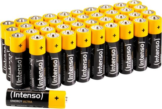 Intenso »Energy Ultra AA LR6« Batterie, (40 St)