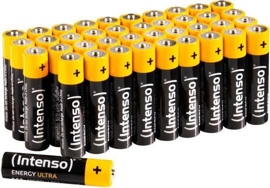 Intenso »Energy Ultra AAA LR03« Batterie, (40 St)
