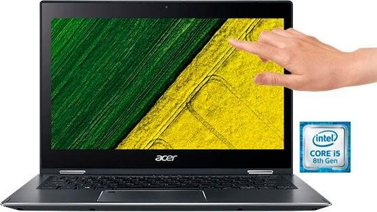 Acer Spin 5 SP513-53N-56MD Convertible Notebook (33,8 cm/13,3 Zoll, Intel Core i5, HD Graphics, 512 GB SSD)
