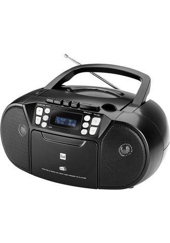 DUAL »DAB-P 210« Boombox (Digitalradio (DAB...