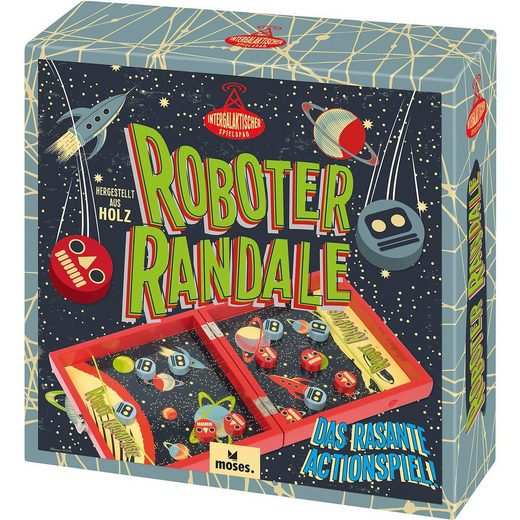 moses Roboter Randale