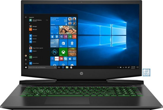 HP Pavilion Gaming Laptop 17-cd0000ng »43,9 cm (17,3)Intel Core i7,512 GB + 32 GB,16 GB«