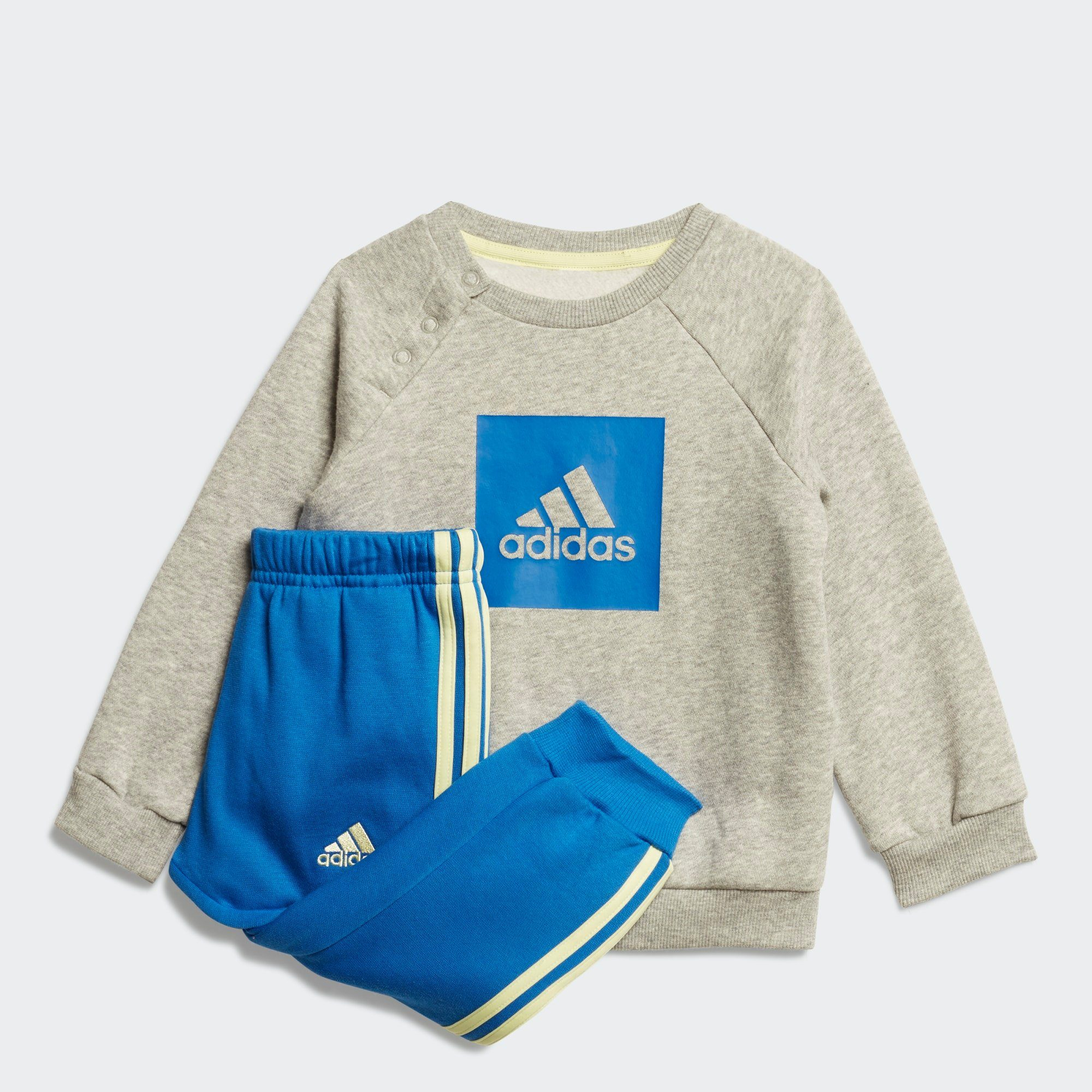 Unisex adidas Performance Trainingsanzug »3-Streifen Fleece Jogginganzug«    04062049103087