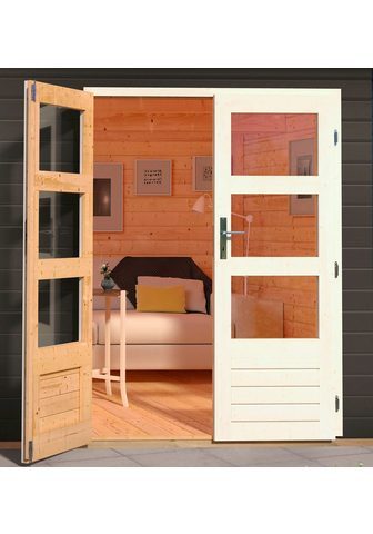KARIBU Dvigubos durys »Modern Eco« BxT: 140x1...