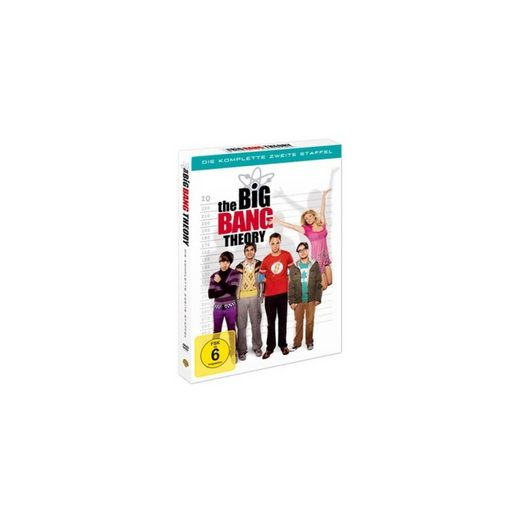 Warner Home Video DVD The Big Bang Theory - Season 2 (4 DVDs)