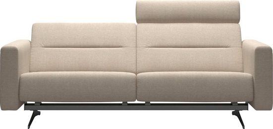 Stressless® 2,5-Sitzer »Stella«, mit Zwischennaht im Rücken, Armlehnen S2, Fuß Chrom, Breite 215 cm