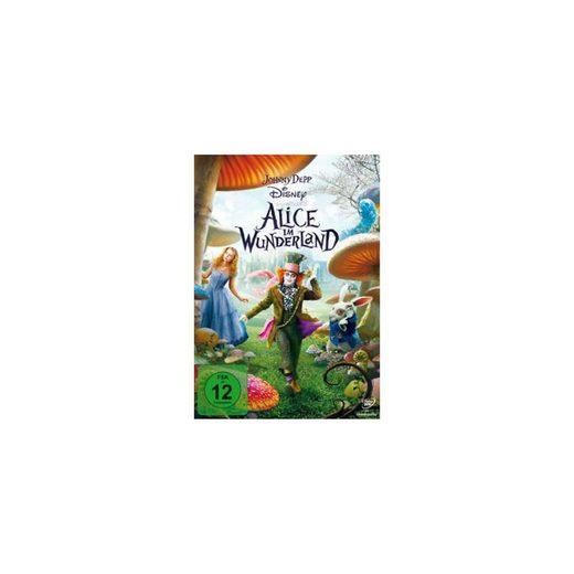 Disney DVD Alice im Wunderland