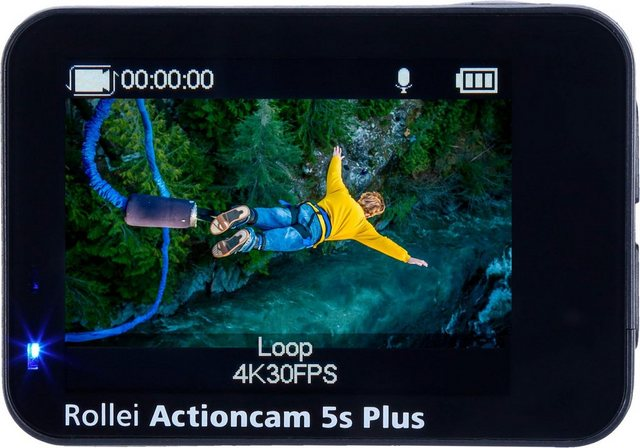 Action, Outdoorkameras - Rollei »5S Plus« Action Cam (4K Ultra HD, WLAN (Wi Fi)  - Onlineshop OTTO