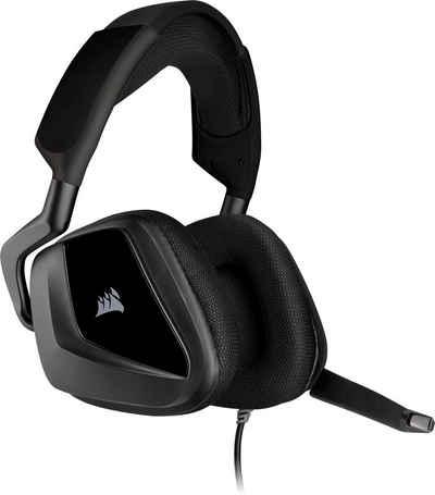 Corsair »Void ELITE Surround« Gaming-Headset (Discord certifiziert, iCUE-Software, speicherbare Audio-Profile)