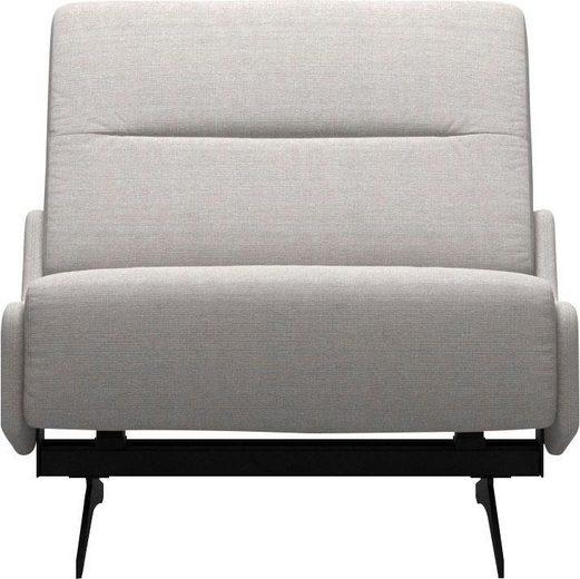 Stressless® Sessel »Stella«, mit Zwischennaht im Rücken, Fuß Mattschwarz, Breite 82 cm