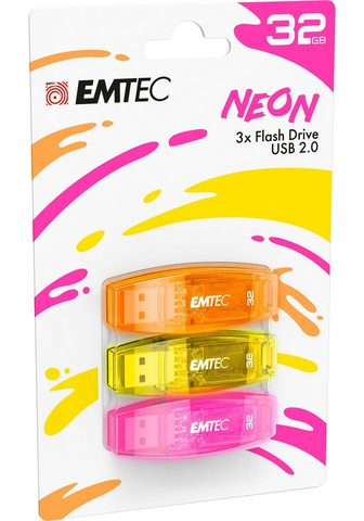EMTEC »C410 Color derinys 2.0« USB laikmena ...
