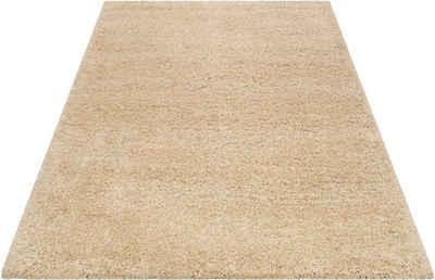 Hochflor-Teppich »Live Nature«, Esprit, rechteckig, Höhe 55 mm, weiche Haptik, Wohnzimmer