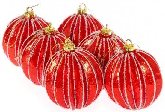 Weihnachtsbaumkugel »Carambula« (12 Stück)