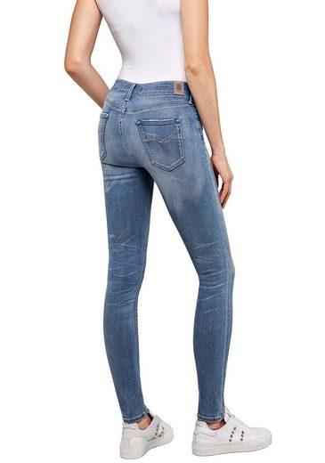 Replay Skinny-fit-Jeans »New Luz - HyperflexBio« Fairtrade Cotton