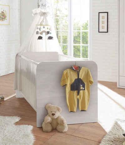 Begabino Babybett »Luca«, mit Schlupfsprossen