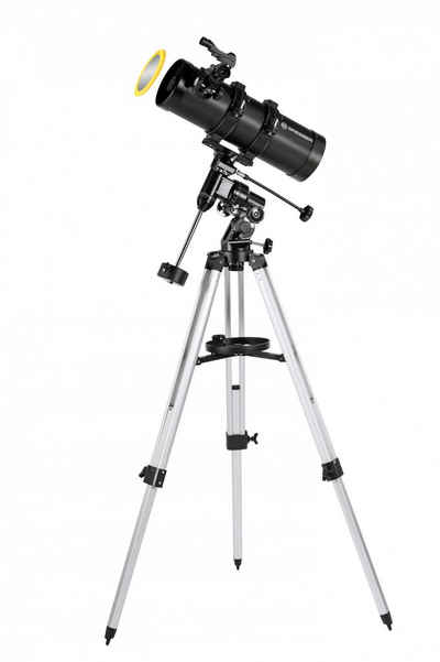 BRESSER Teleskop »Teleskop Pluto 114/500 EQ mit Handy Adapter«
