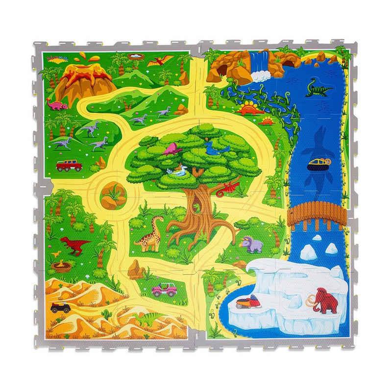 Hakuna Matte Puzzlematte »Dinosaurier Safari«, 16 Puzzleteile