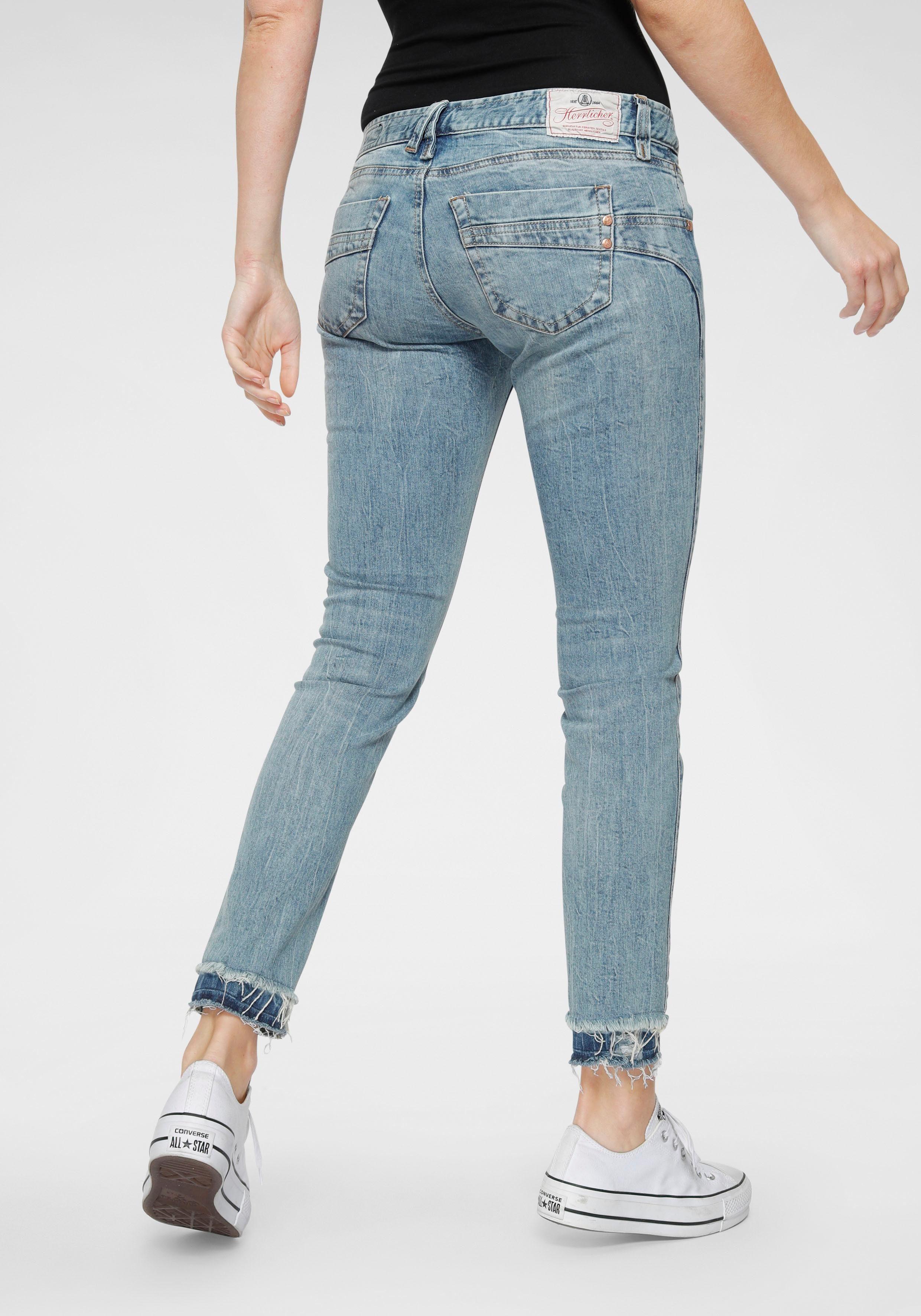 Herrlicher 78 Jeans »TOUCH CROPPED« mit offenen Cut Off Säumen online kaufen | OTTO