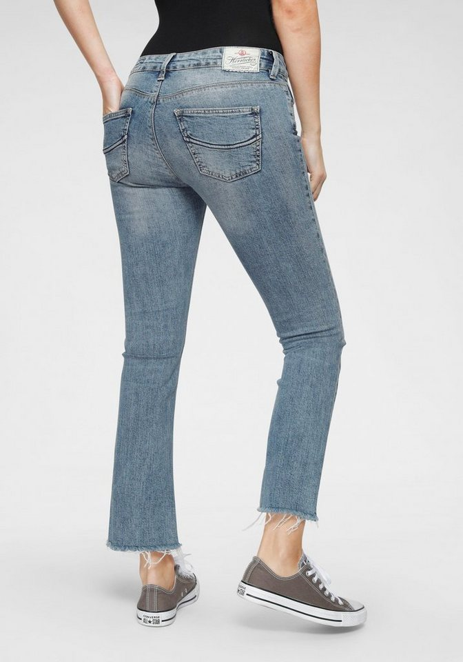 herrlicher -  Bootcut-Jeans »SUPER G BOOT CROPPED« Baby-Bootcut