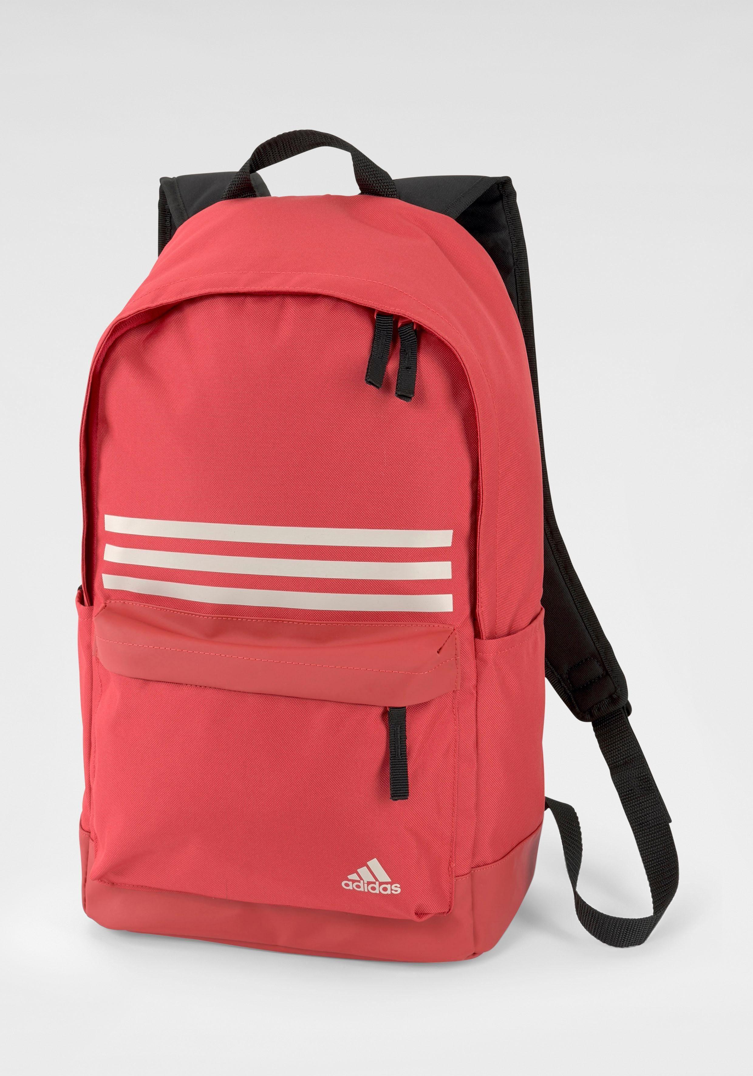 Unisex adidas Performance Sportrucksack rot, schwarz   04062054158423