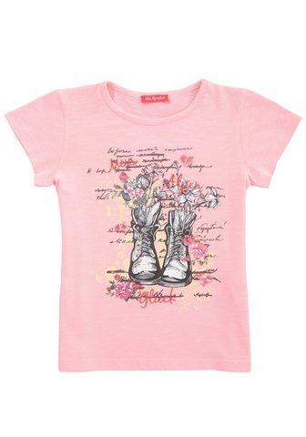 BONDI Marškinėliai Vaikiški su raštas ir žvy...