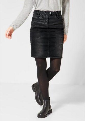 CECIL Džinsinis sijonas