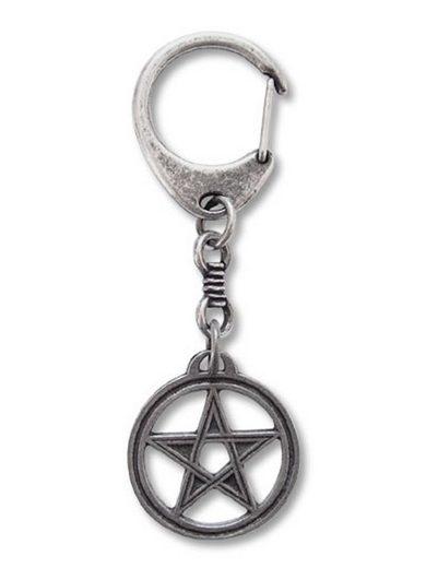 Adelia´s Amulett »Schlüsselanhänger«, Pentagramm - Schutzschild gegen negative Energie