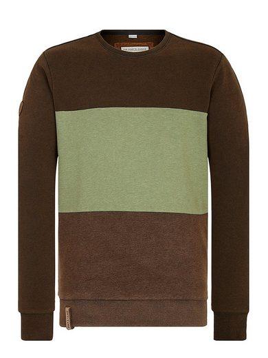 naketano Sweatshirt »Ich trage Mantel«