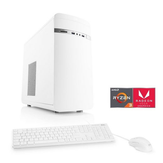 CSL Multimedia PC, AMD Ryzen 3 3200G, Vega 8, SSD, 16 GB DDR4 »Sprint T8194 Windows 10 Home«