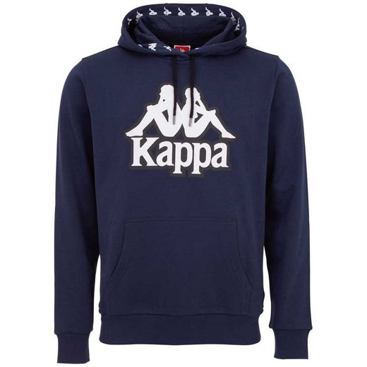 Kappa Kapuzensweatshirt »AUTHENTIC VEDAD« mit plakativem Logoprint auf der Front