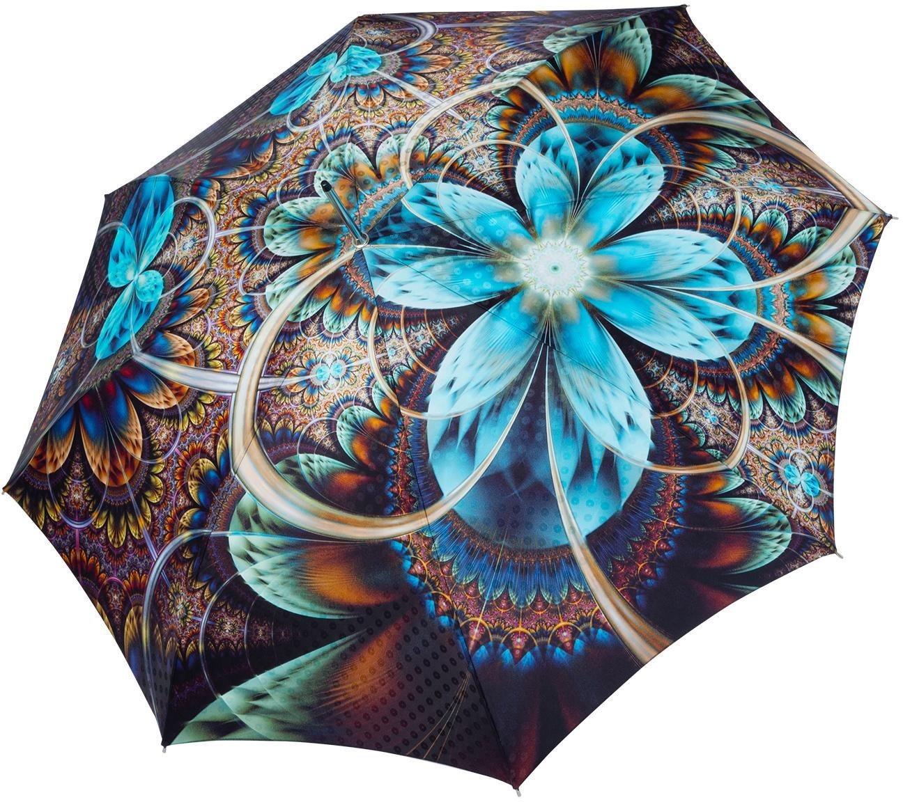 Regenschirme - doppler MANUFAKTUR Stockregenschirm »Boheme, bloom«, handgemachter Manufaktur Stockschirm ›  - Onlineshop OTTO