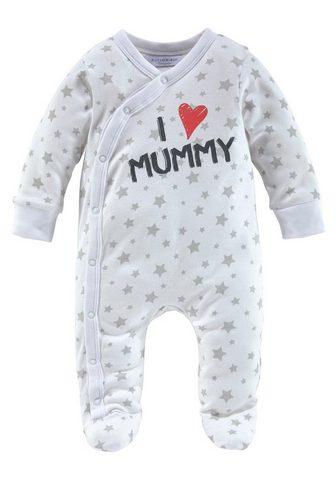 KLITZEKLEIN Pižama »I love Mummy / I love Daddy Dr...
