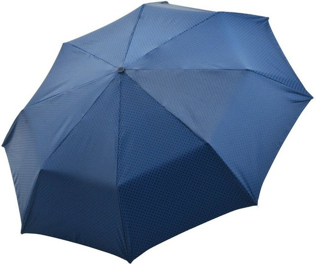 doppler MANUFAKTUR Taschenregenschirm »Orion, blau«, handgemachter Manufaktur-Taschenschirm | Accessoires > Regenschirme > Taschenschirme | doppler MANUFAKTUR