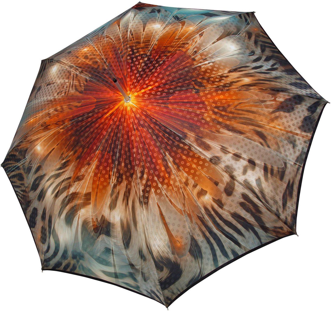 Regenschirme - doppler MANUFAKTUR Stockregenschirm »Boheme, amber«, handgemachter Manufaktur Stockschirm ›  - Onlineshop OTTO